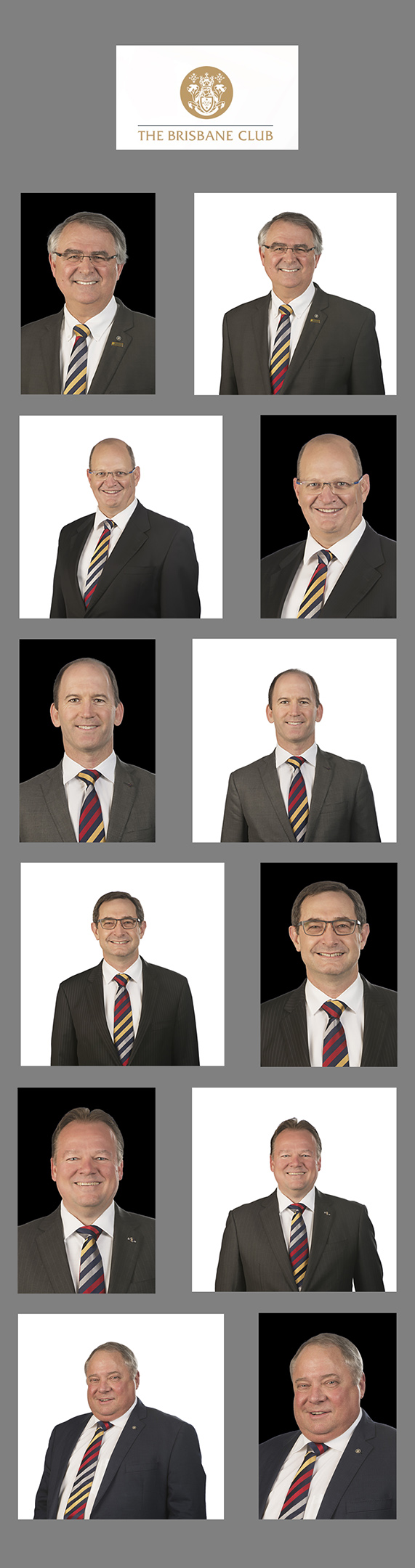 Onsite mobile studio corporate headshots brisbane
